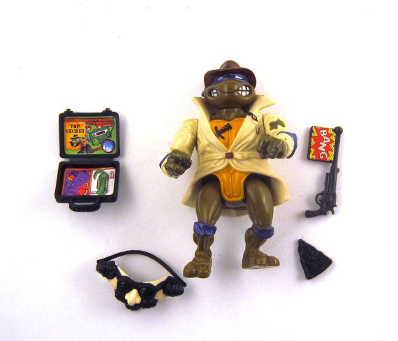 TMNT Undercover Don 1990 Action Figure Complete