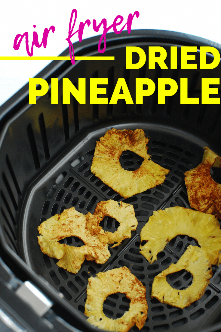 Air Fryer Dried Pineapple in 2020 Dehydrate pineapple