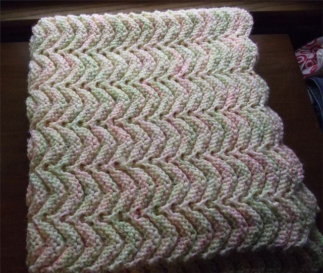 Ravelry All Purpose Knitted Afghan Pattern By Project Linus Fiber