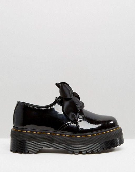 Martens Y De Con Zapatos Plana Plataforma Dr Lazo Holly RgHW18qw