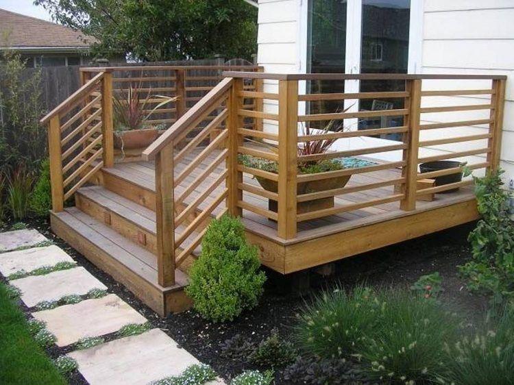 Unique Wooden Balcony Railing Designs