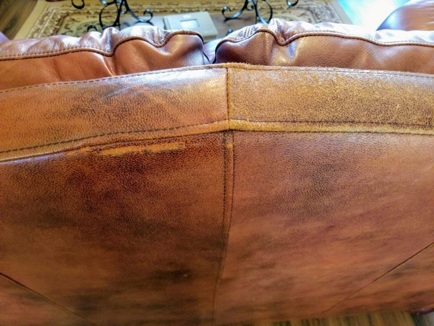 20190121 132921 In 2020 Cleaning Leather Furniture Leather Furniture Repair Diy Leather Repair