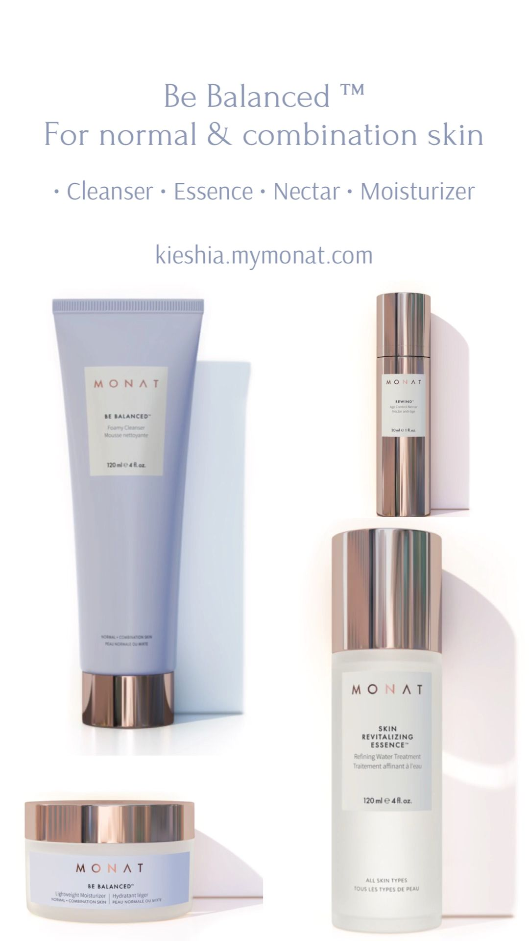 Photo of Be Balanced ™ Monat Skincare