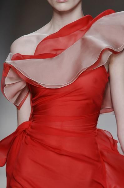 Valentino evening one shoulder dress