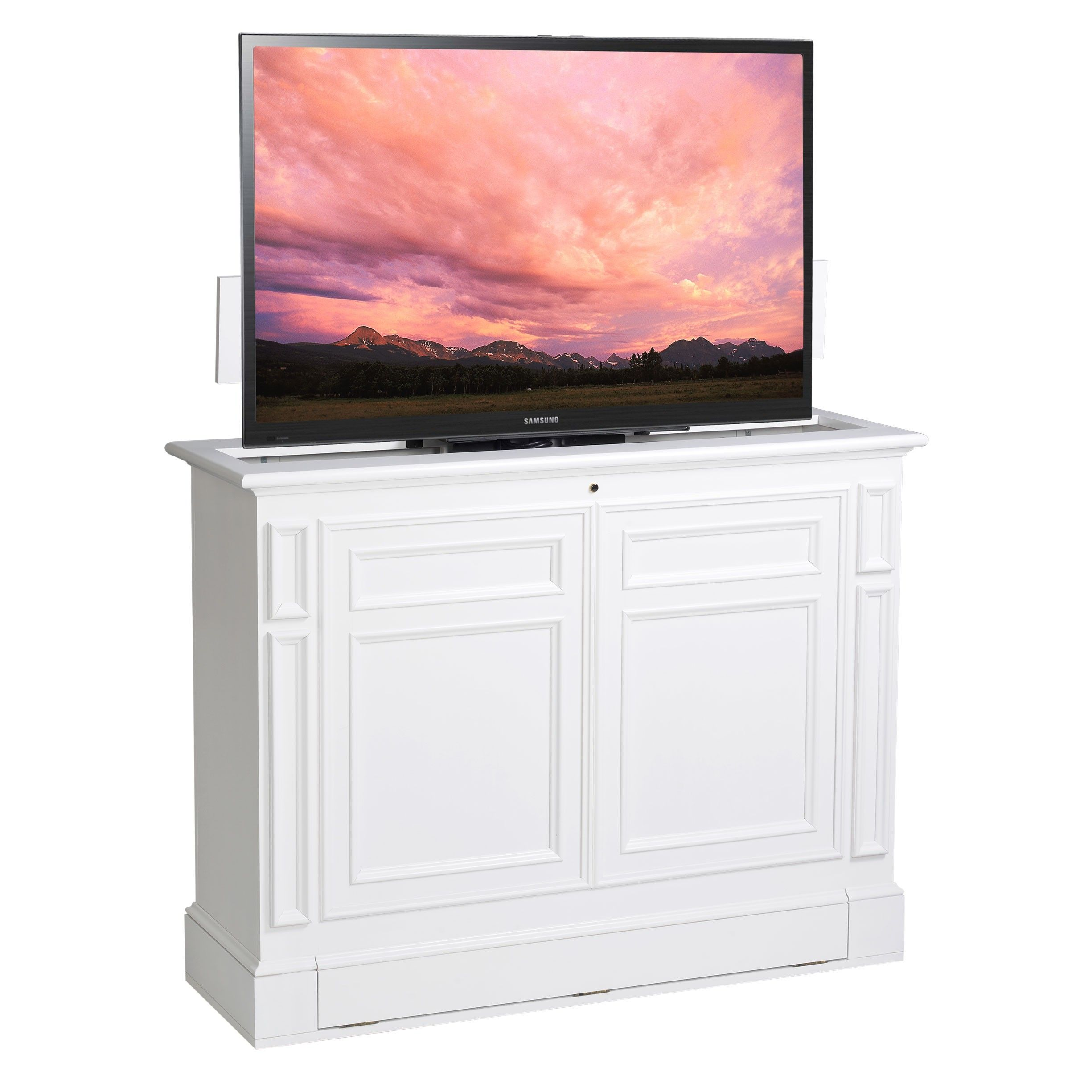 Beautiful Hideaway Tv Cabinets Flat Screens