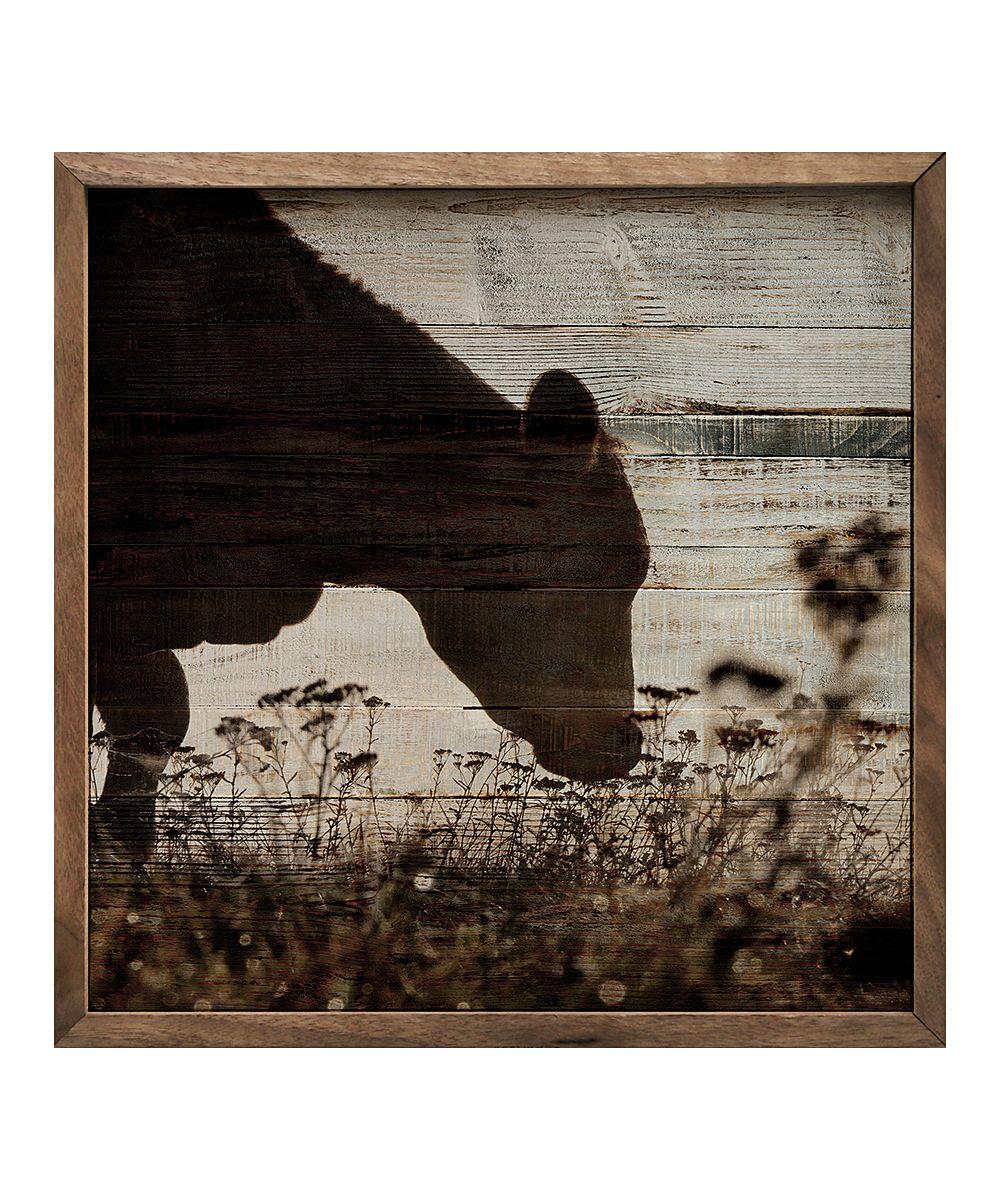 Kendrick Home Grazing Cow Wall Art Zulily Cow Wall Art Rustic Artwork Wall Art