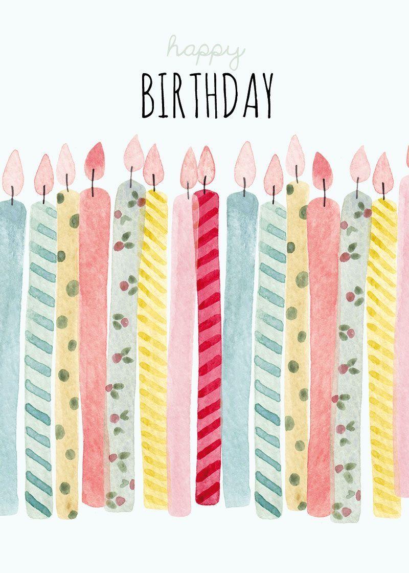 Birthday Candles A Pinterest Birthdays Happy Birthday