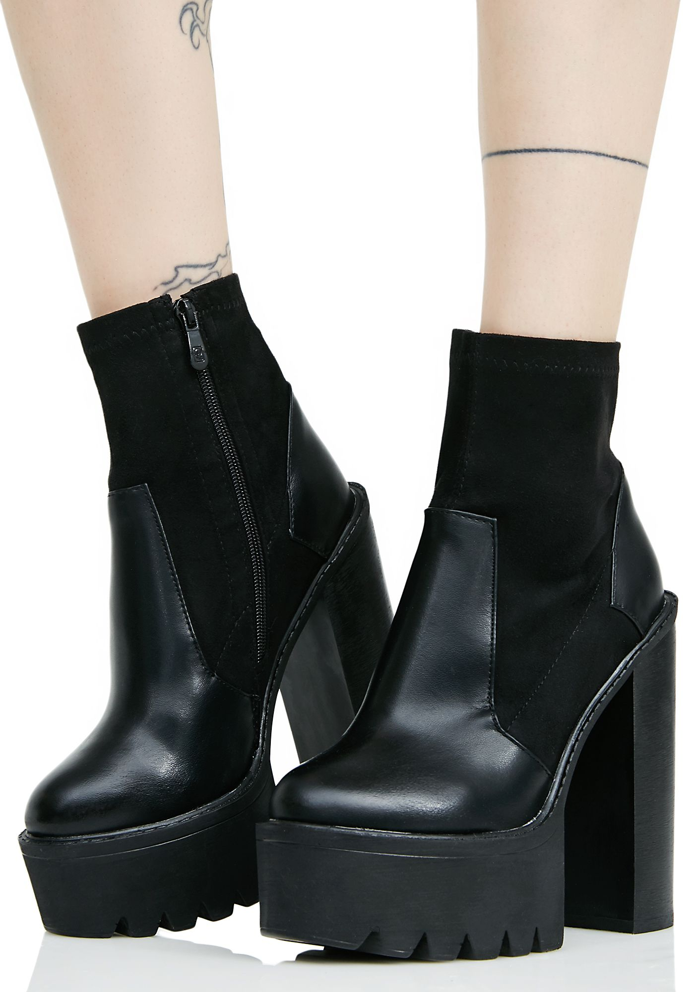 7b3f965359 Public Desire Karmen Cleated-Sole Platform Ankle Boots #90s #grunge #fashion