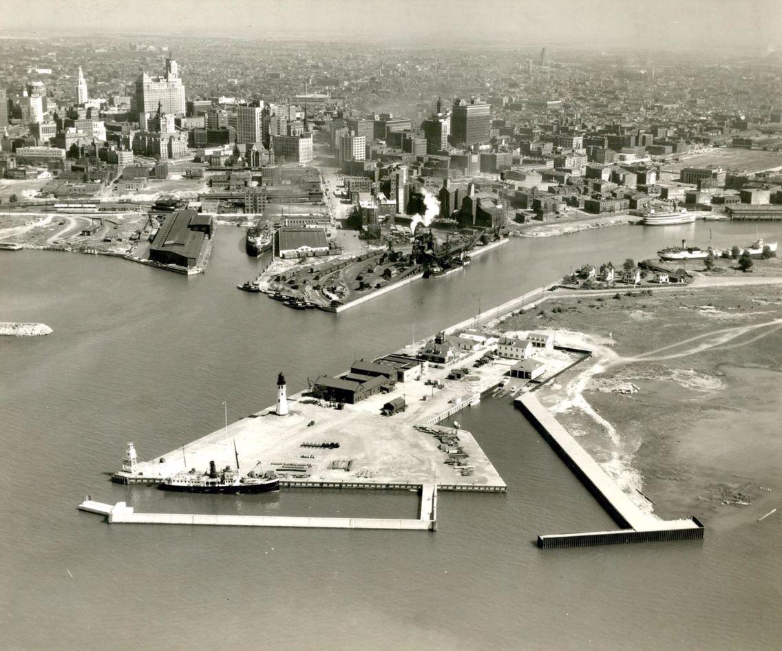 Buffalo S Waterfront 1938 The Buffalo News Buffalo New York City Landscape Buffalo News