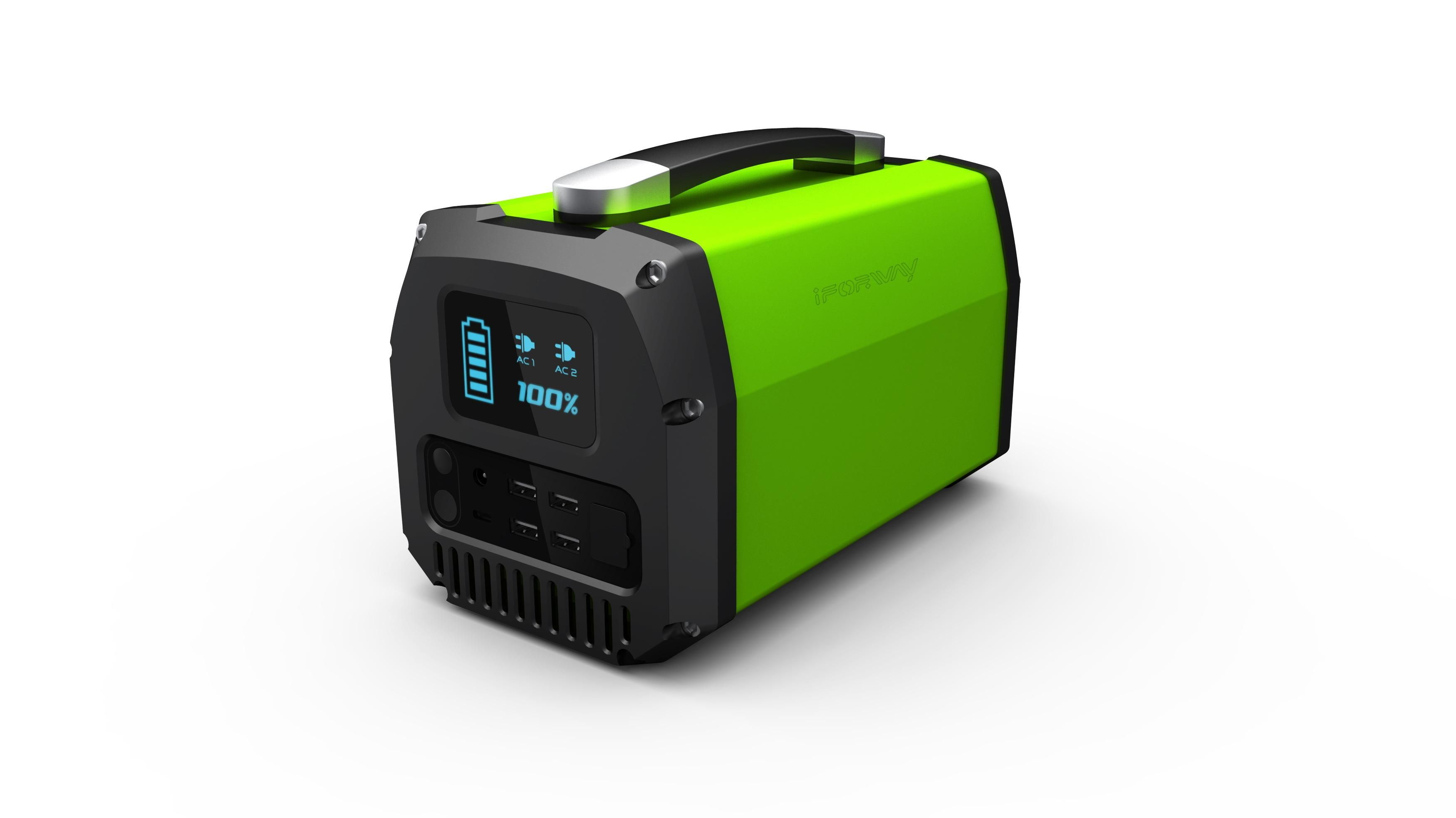 this portable solargenerator is an all in one solar machine