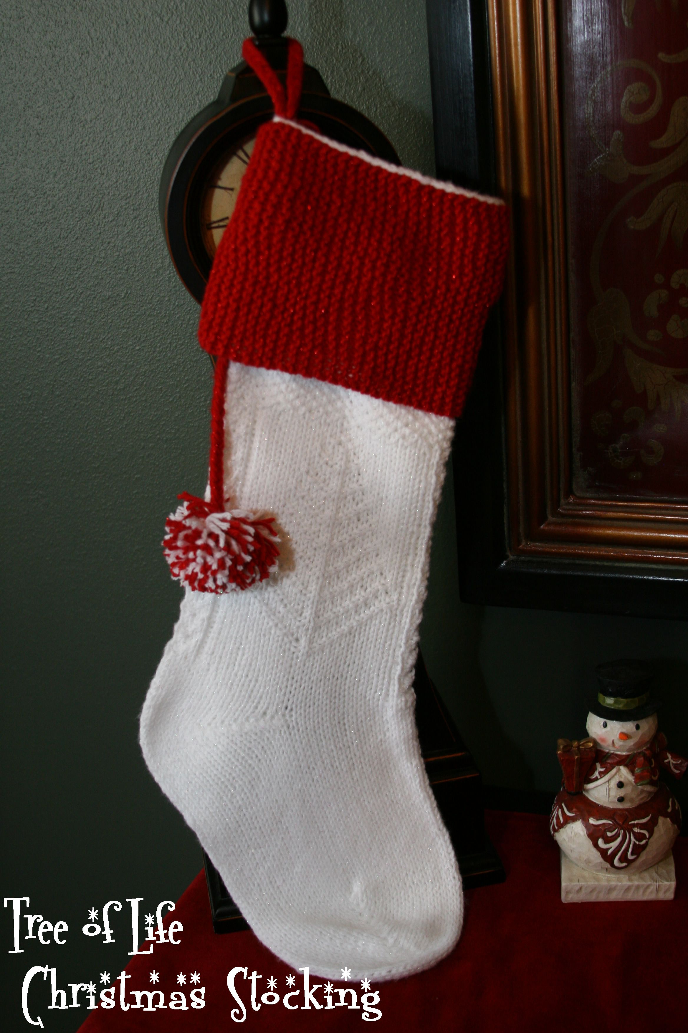 Unique Knitted Stocking Patterns Component - Decke Stricken Muster ...