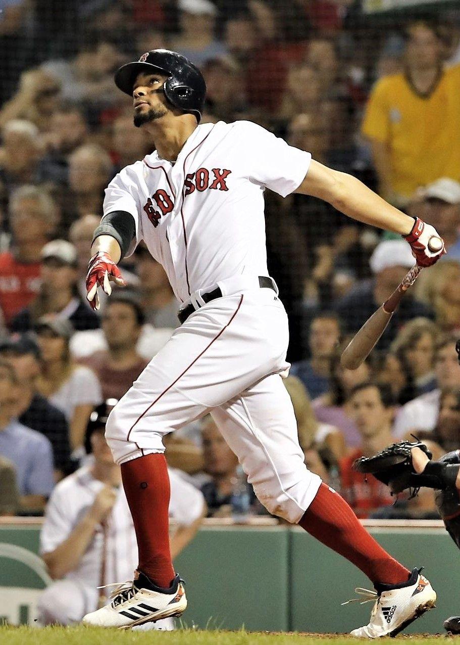 Aug. 22 Xander Bogaerts, Red Sox, 2 vs. Indians. David
