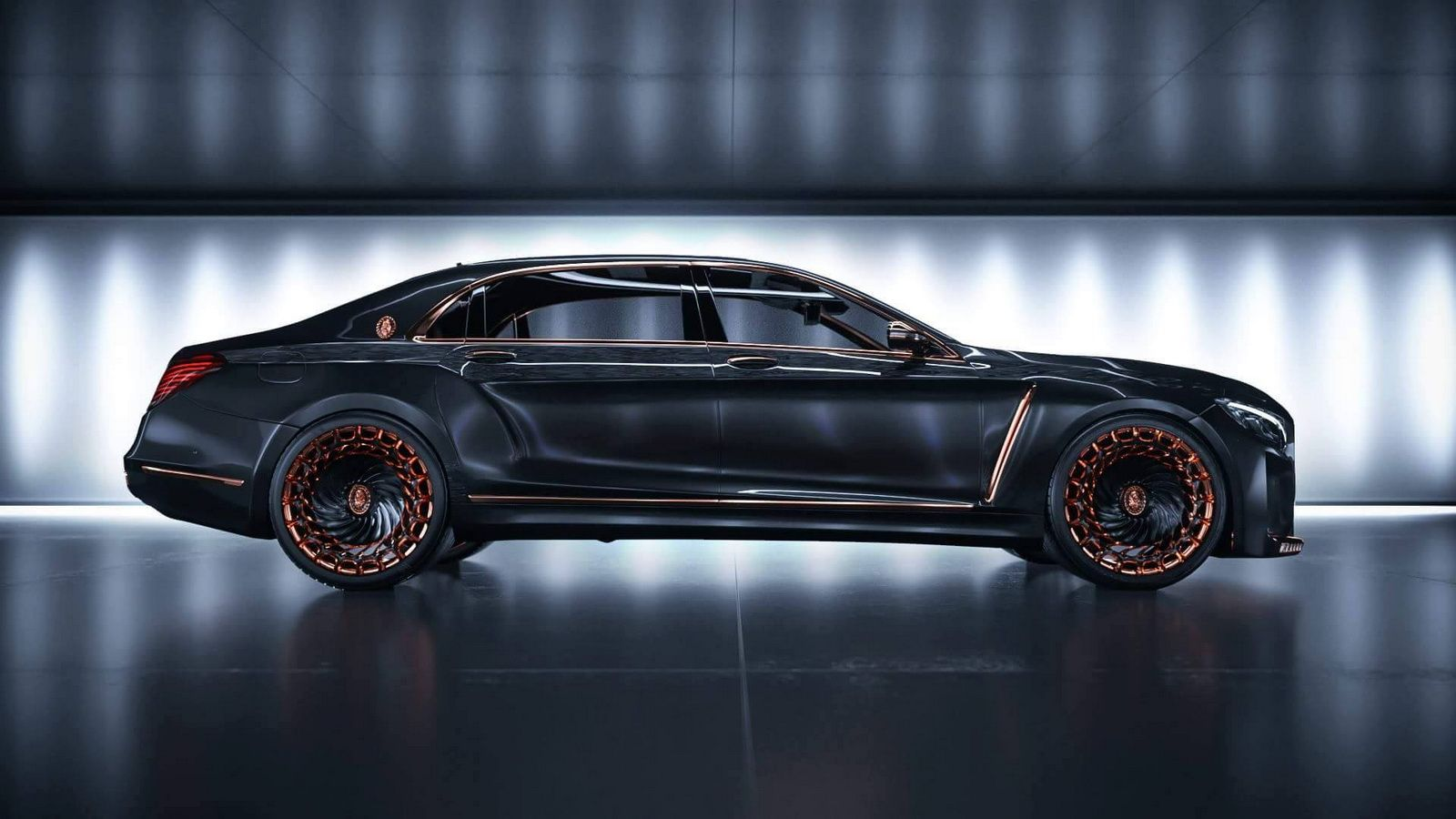 Theres A Big Chance The Uberostentatious Vision MercedesMaybach - 1 million mercedes coolest armoured vehicle ever