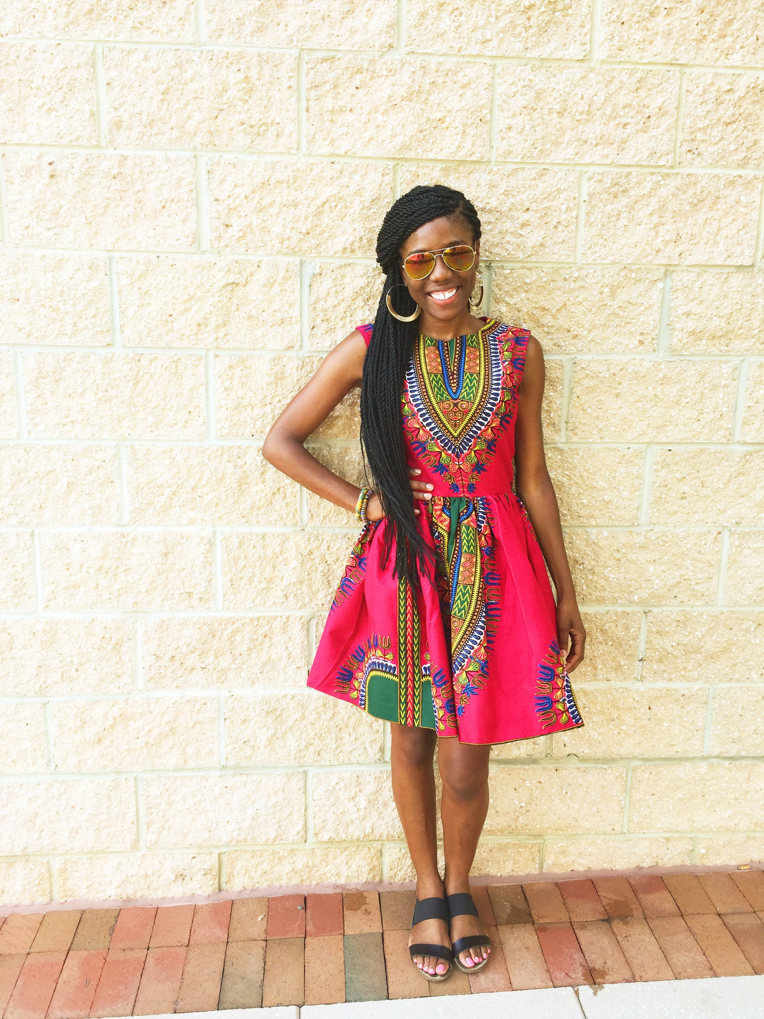 African fashion styles: I Love African Print