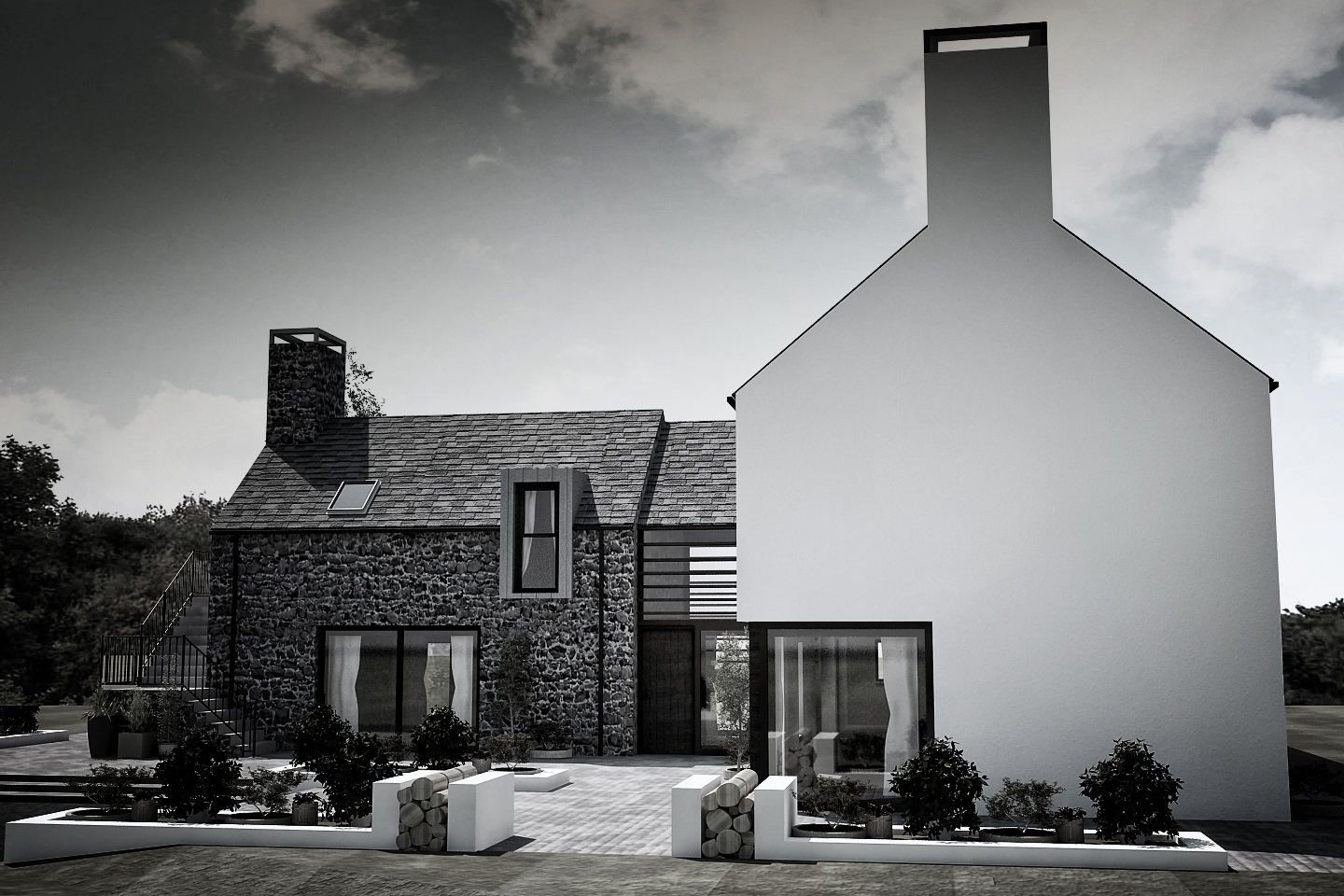 One Of Northern Irelands Most Exciting Architects Patrick Bradley Works Closely With Clients To Design Exceptional Buildings Anything From Small