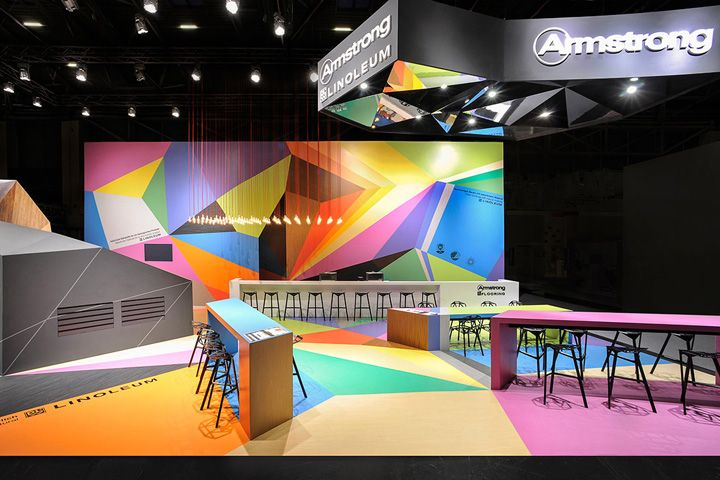 Trade Event Stands : Armstrong trade fair stand by ippolito fleitz group
