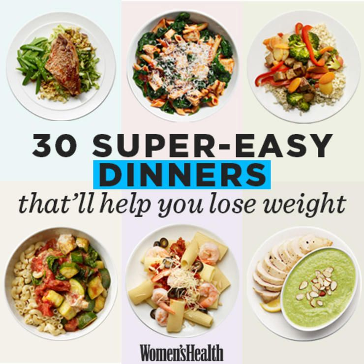 Health dinner for weight loss