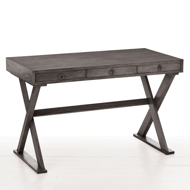 Arteriors Cain Gray Limed Oak Desk furniture Pinterest