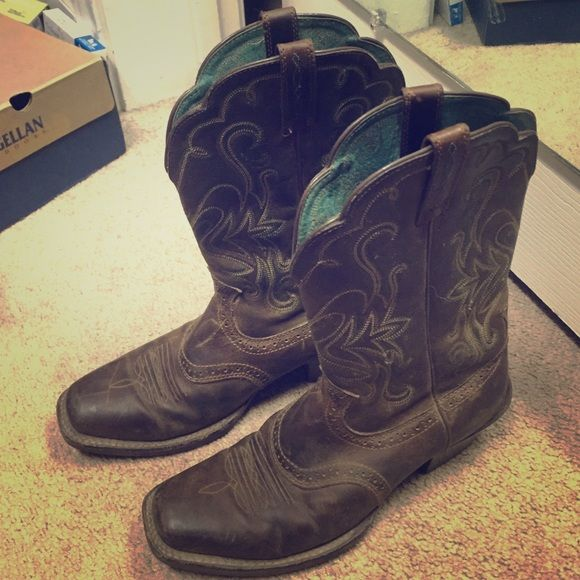 Gently used ariat cowboy boots | Boots, Cowboys and Love