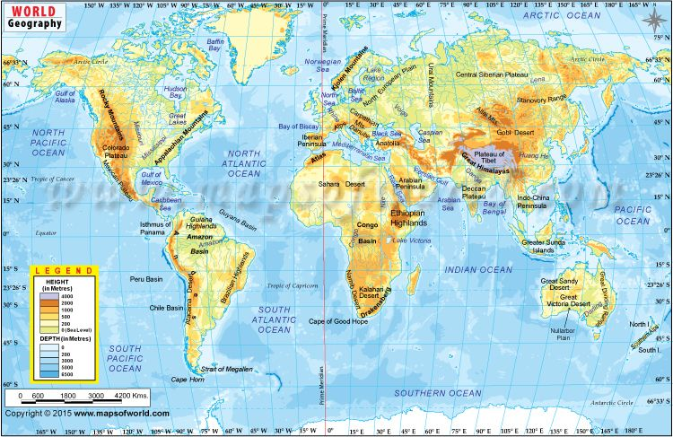 World Geographic Map in 2018 maps to Pinterest