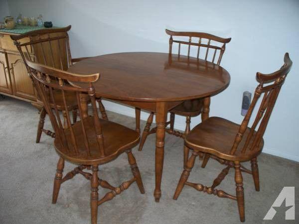 1960s Era Maple Furniture Set