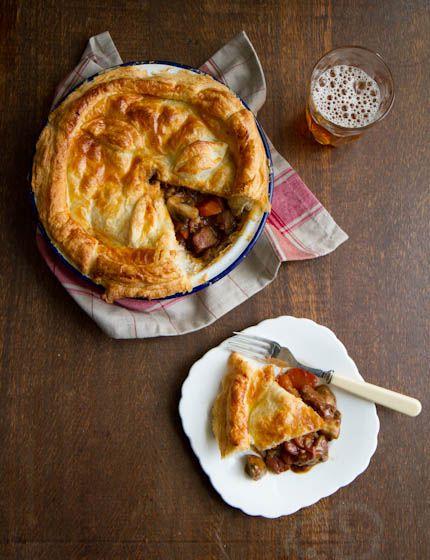 Steak and Ale Pie   Steak and ale, Ale pie, Recipes