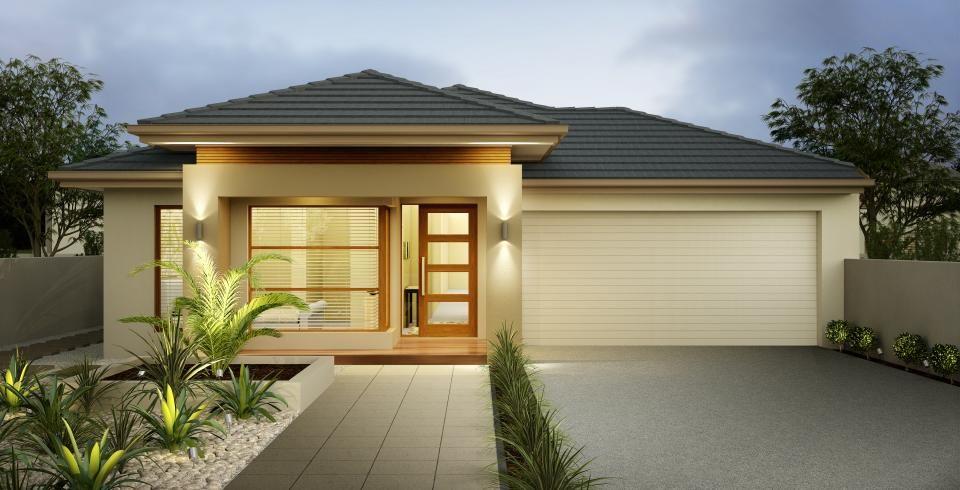 Un piso fachada 7 disenos pinterest pisos cochera y for Fachadas de casas de un solo piso