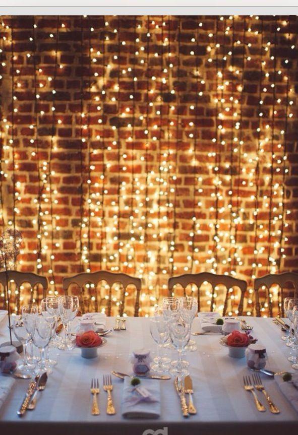 Lighting Wedding Pinterest
