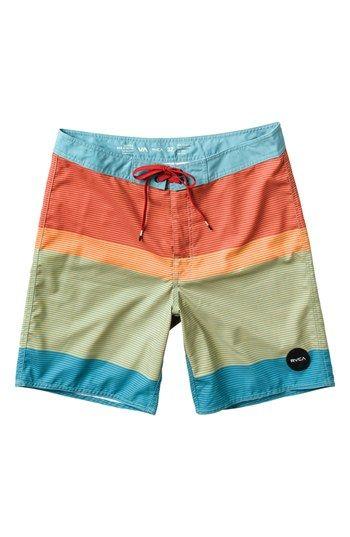 548e2214ec RVCA 'Commander' Swim Trunks (Big Boys) available at #Nordstrom ...