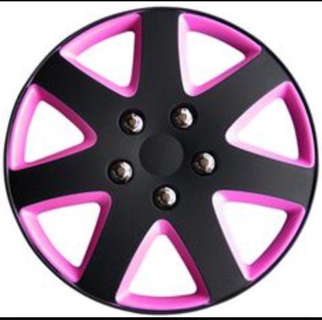 Pink black rim