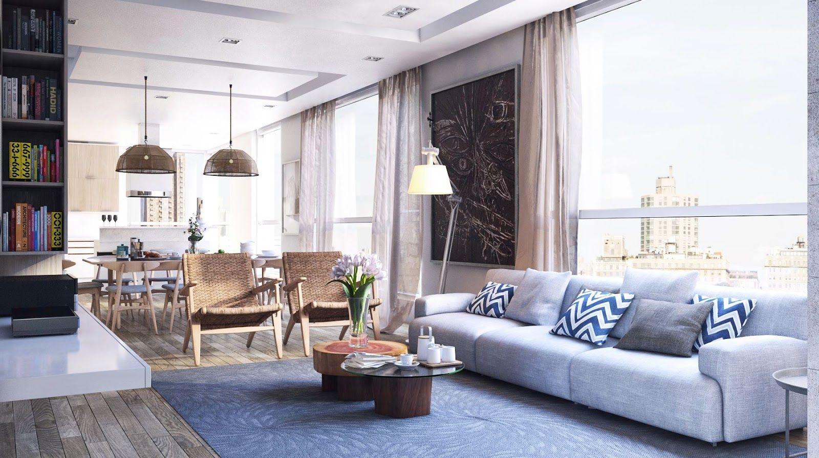 ehrfurchtiges wohnzimmer in grau mit holz bewährte bild der dbfeedbabfdbfe
