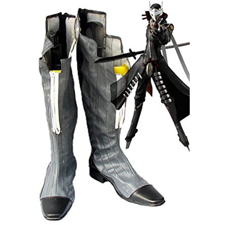Shin Megami Tensei Persona 4 Izanagi of the Fool Arcanum Cosplay Shoes Boots Custom Made2