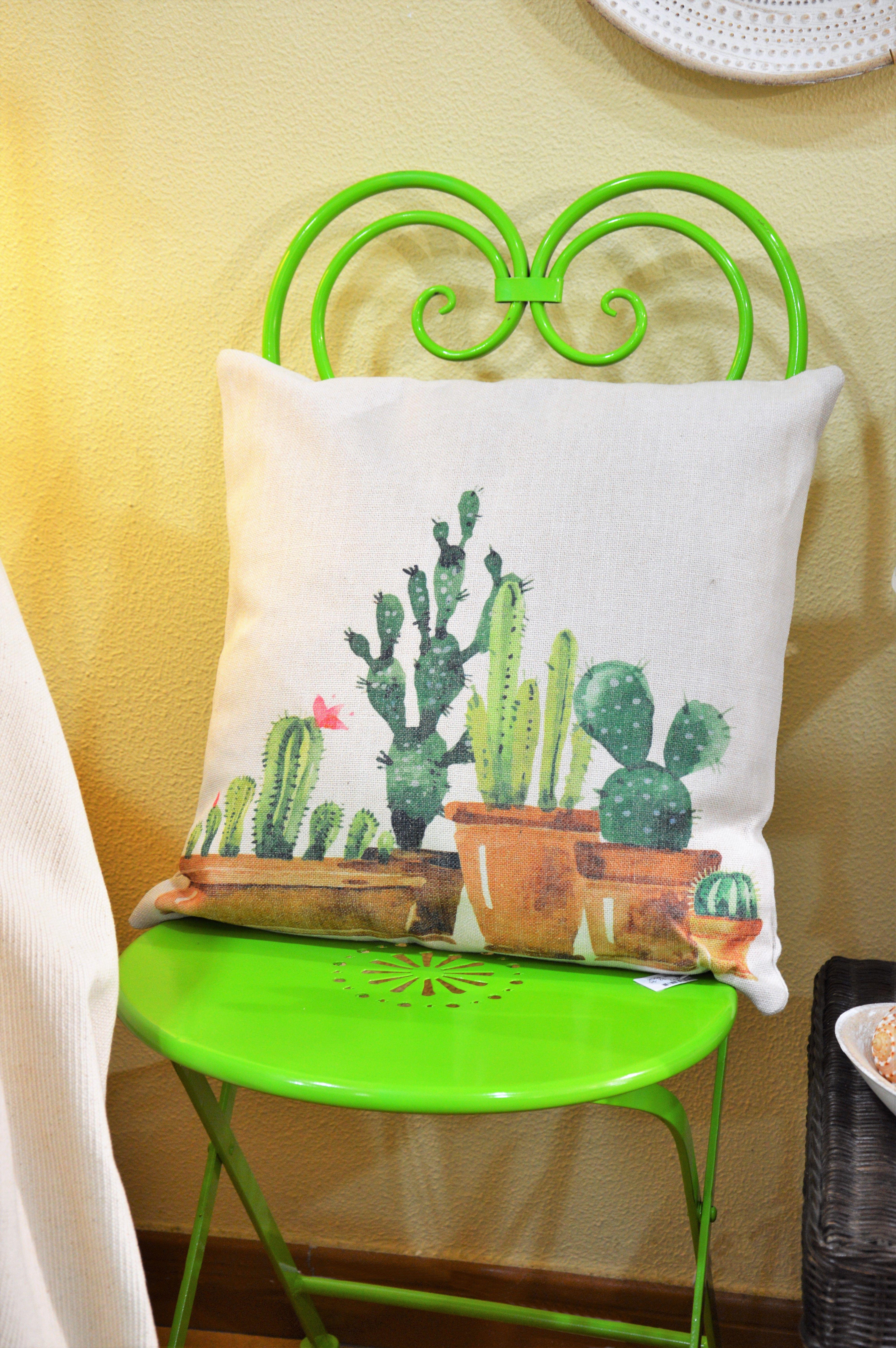 Sillas jardn jardin sillas cactus cojines mueblesjardin