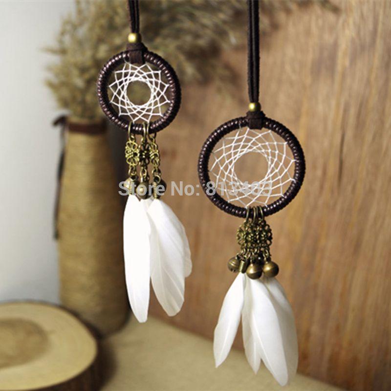 Small Decorative Bells Amusing 5Cm Diameter Small Dream Catcher Indian Feather Dream Catchers Decorating Inspiration