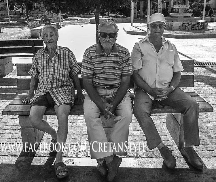 Some good old boys... Rethymno...