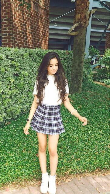 Plaid Tennis Skirt American Apparel Fashion Celebrity Style