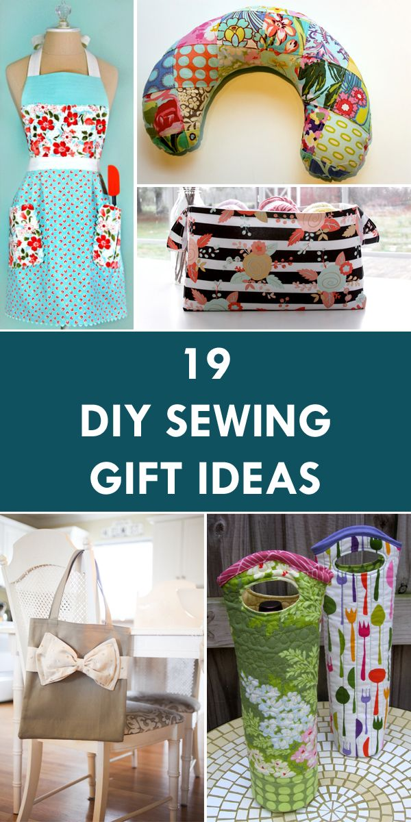 Sewn christmas gifts ideas