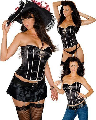Sexy pirate corset