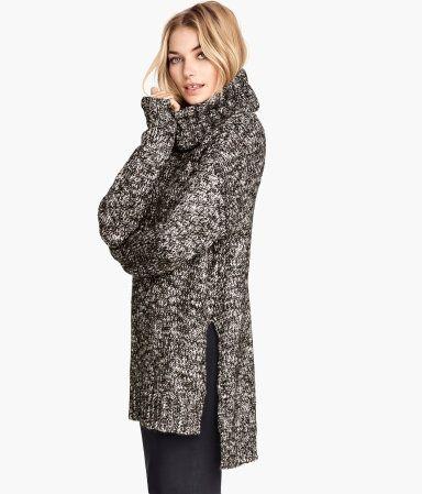 oversized chunky sweaters | H&M | fashion | Pinterest | Polo neck ...