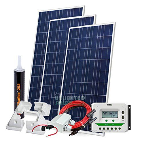 Unlimited Solar 480 Watt 12 Volt Sunmar Rv Solar Panel Kit With Abs Mounts Find Out More About The Gr Solar Panels For Home Solar Panel Kits Rv Solar Panels