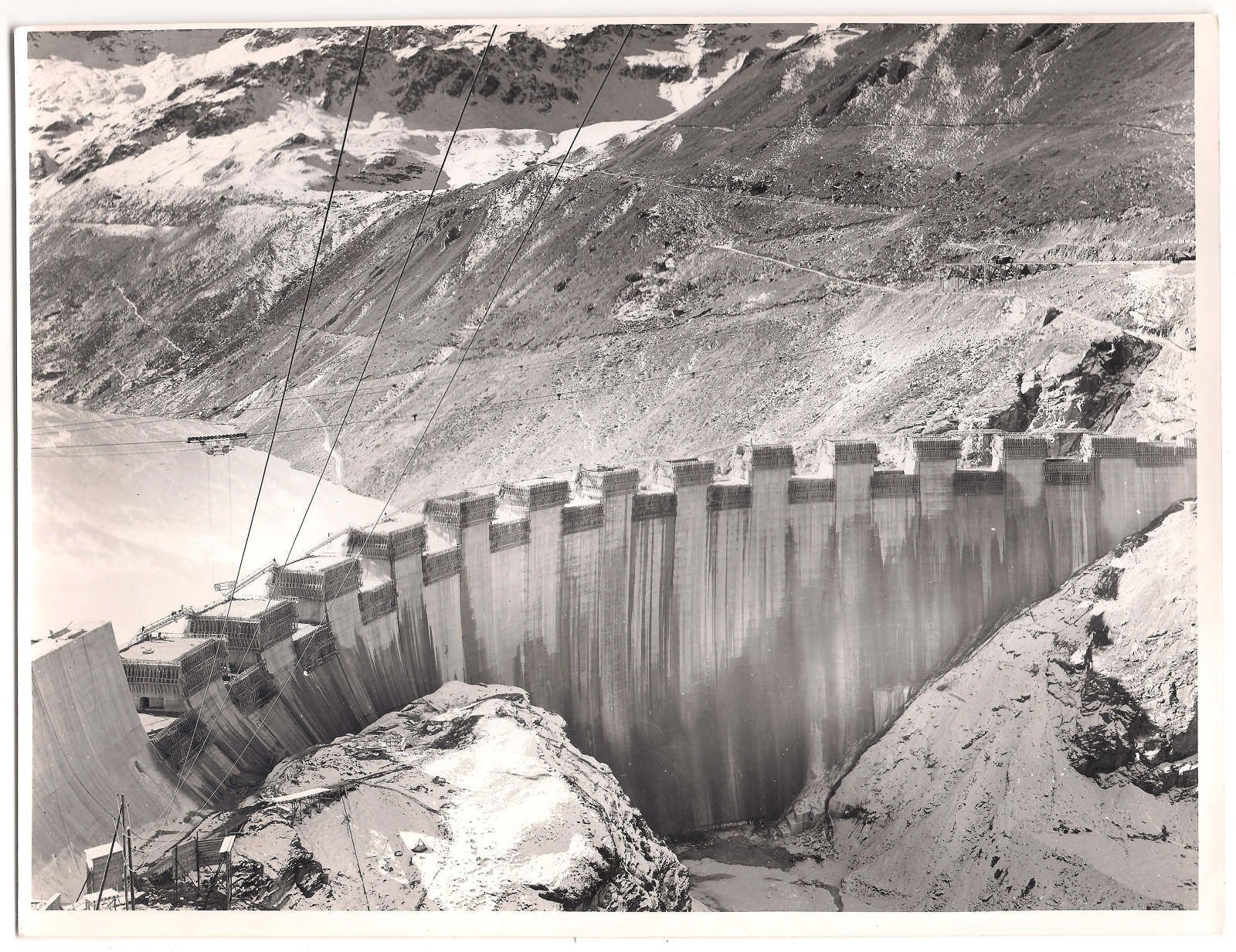 Barrage de Moiry Forces Motrices de la Gougra SA ATLAS OF PLACES
