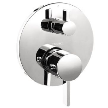 Hansgrohe 04231 Thermostatic Trim W Volume Control And Diverter