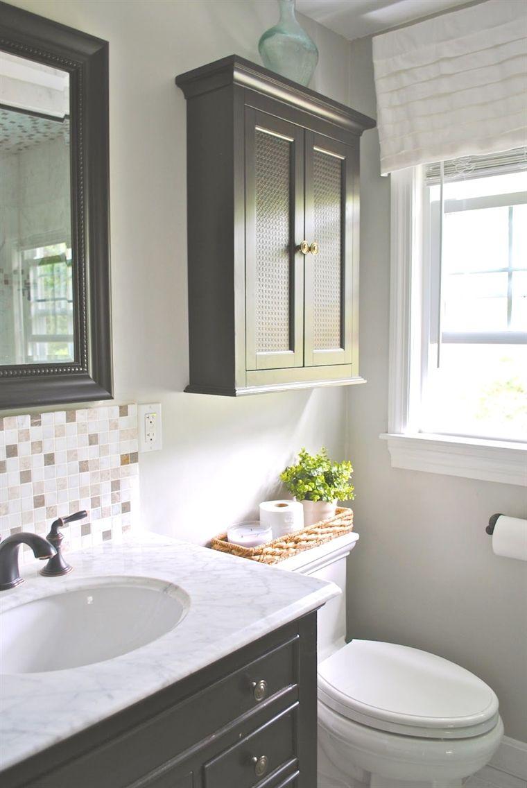 27+ Bathroom wall cabinets over toilet ideas