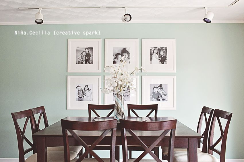 Dining Room 12x12 Prints On 19x19 Frames From Ikea Home Wall