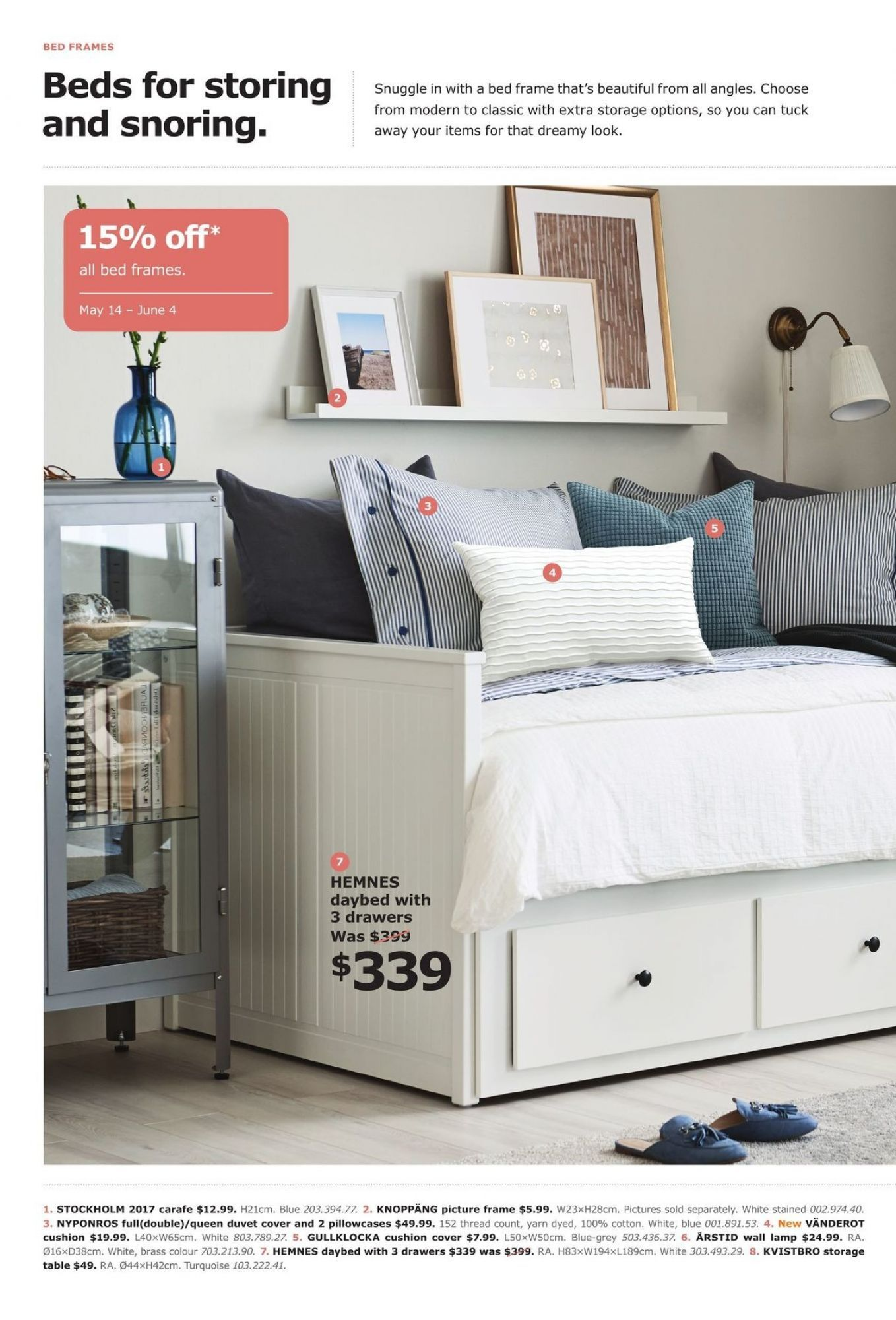 Flyer Ikea Bedframe Event Canada - from Monday May 8, 8 to