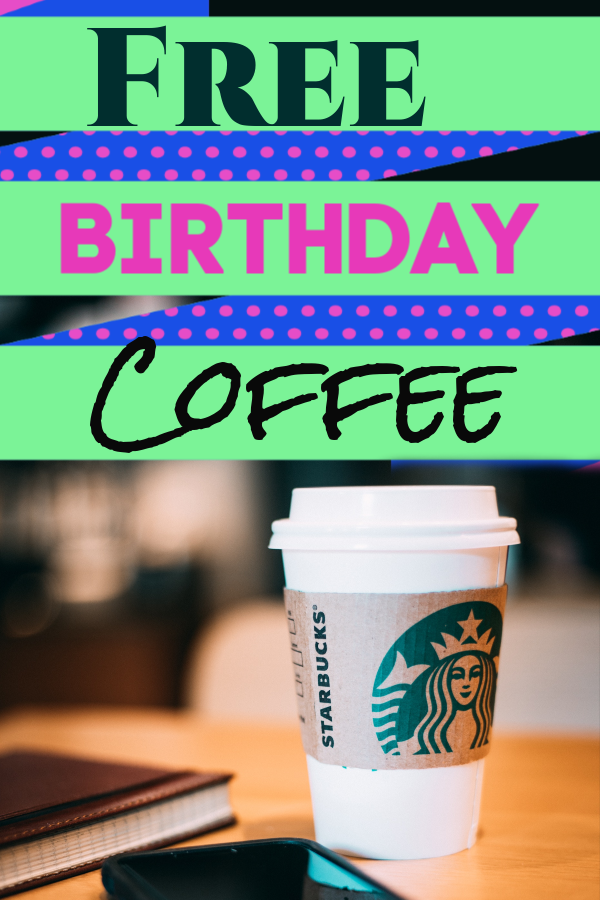 Starbucks Canada Free Coffee on Your Birthday when you