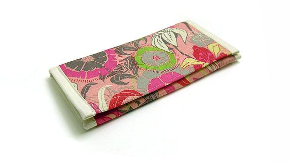 Travel Jewelry Wallet Jewelry Organizer Clutch Preeti Floral