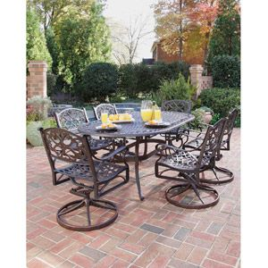 Home Styles Biscayne 7 Piece Dining Set Multiple Finishes