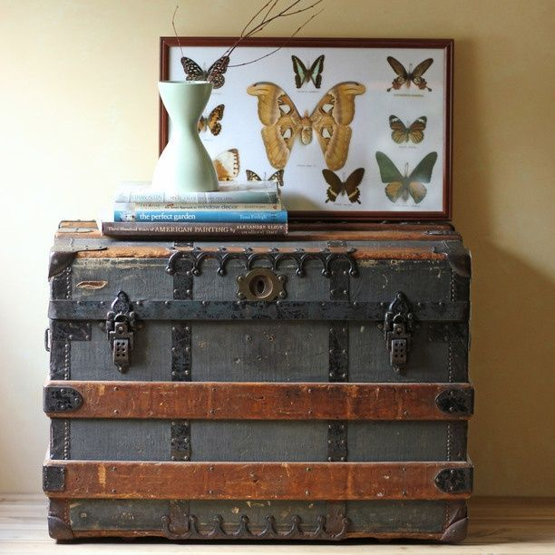 Decorating With Steamer Trunks Steamer Trunk Into Table With
