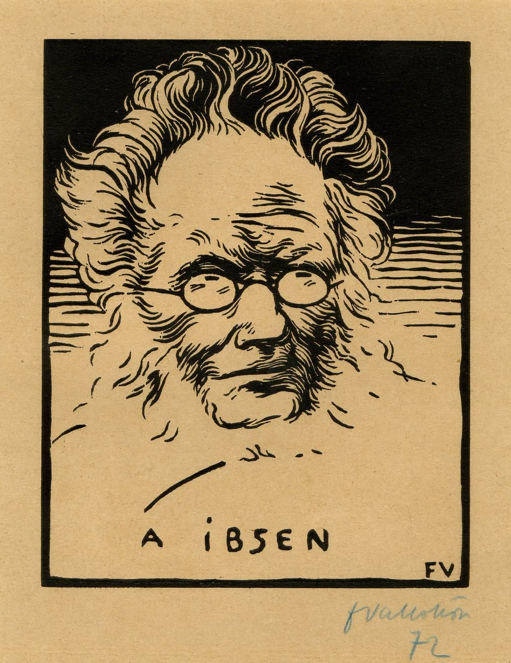 Playwright Henrik Ibsen was born #onthisday in 1828. Here's a portrait of him from 1894 http://ow.ly/KdoPW